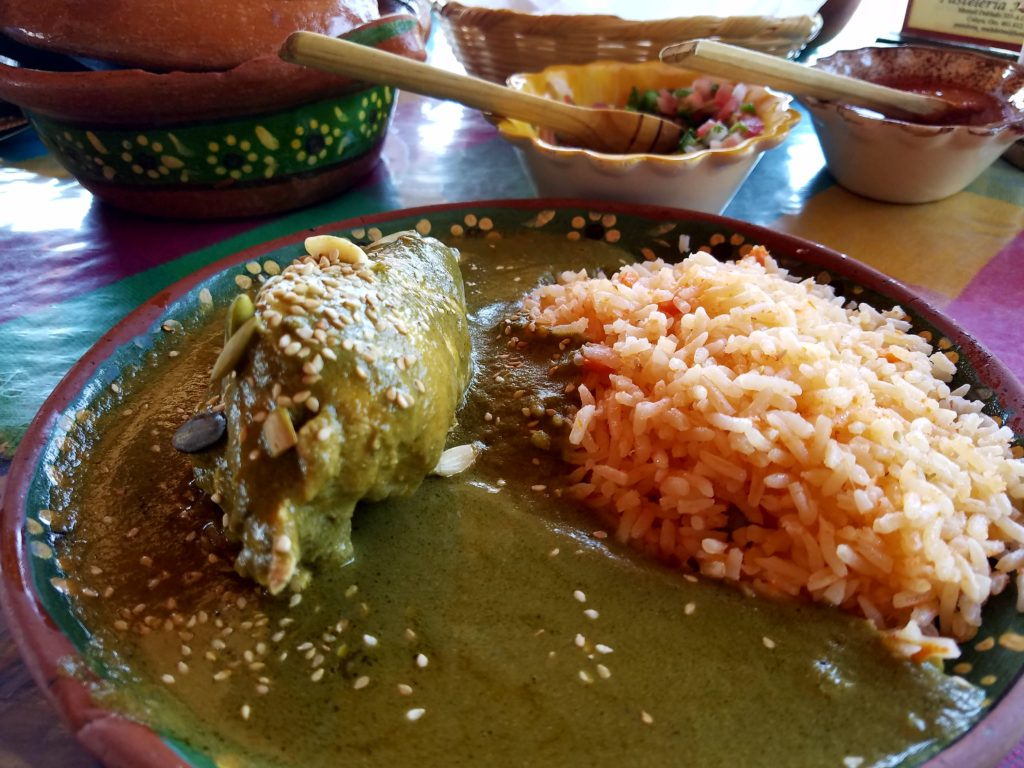 Mole Verde with Chicken