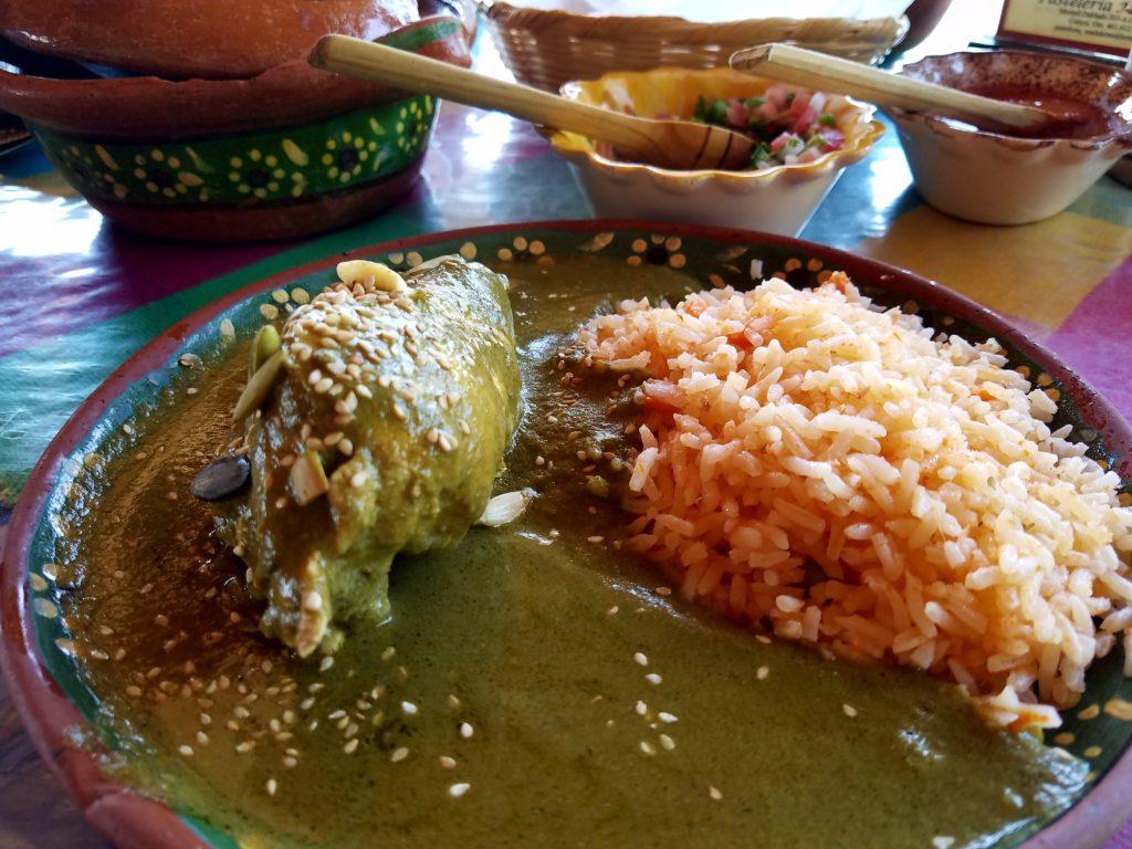 Mole Verde with Chicken