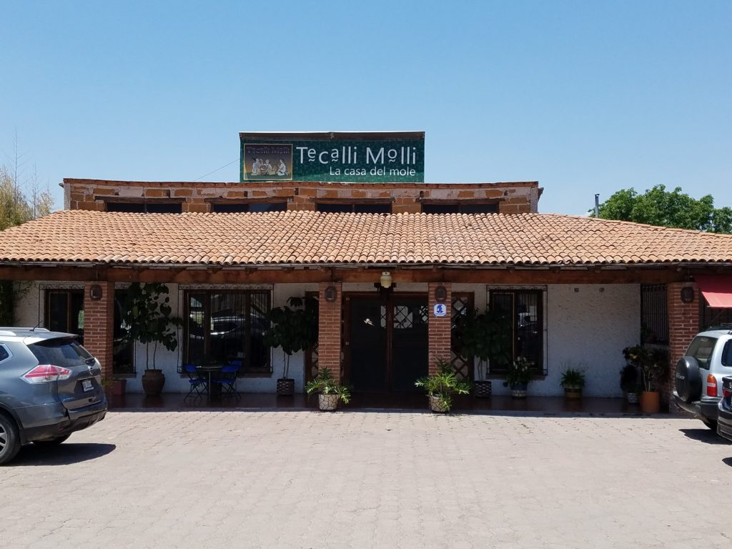 Restaurant Tecalli Molli- La Casa of Mole