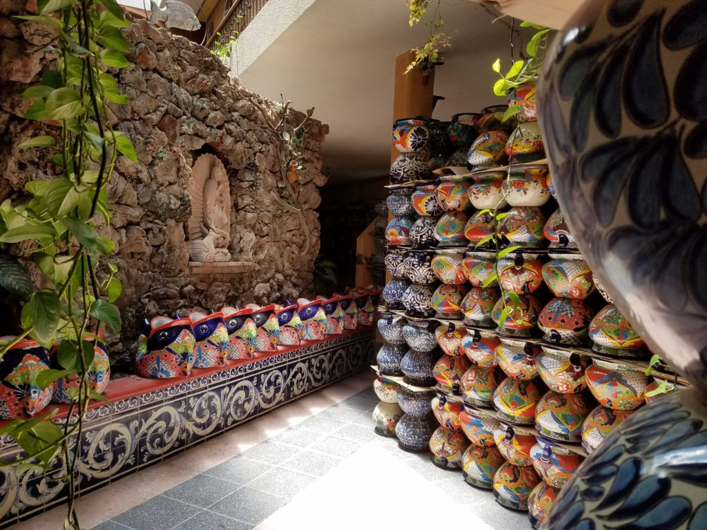 Talavera Shop in Dolores Hidalgo, Mexico