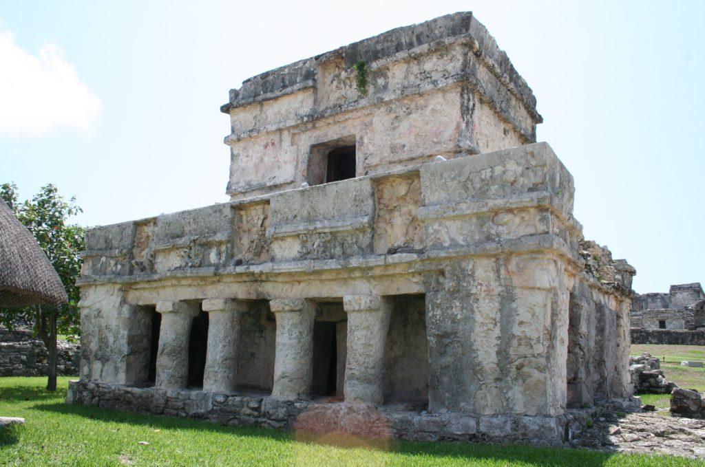 Templo de los Frescos, Tulum, Mexico
