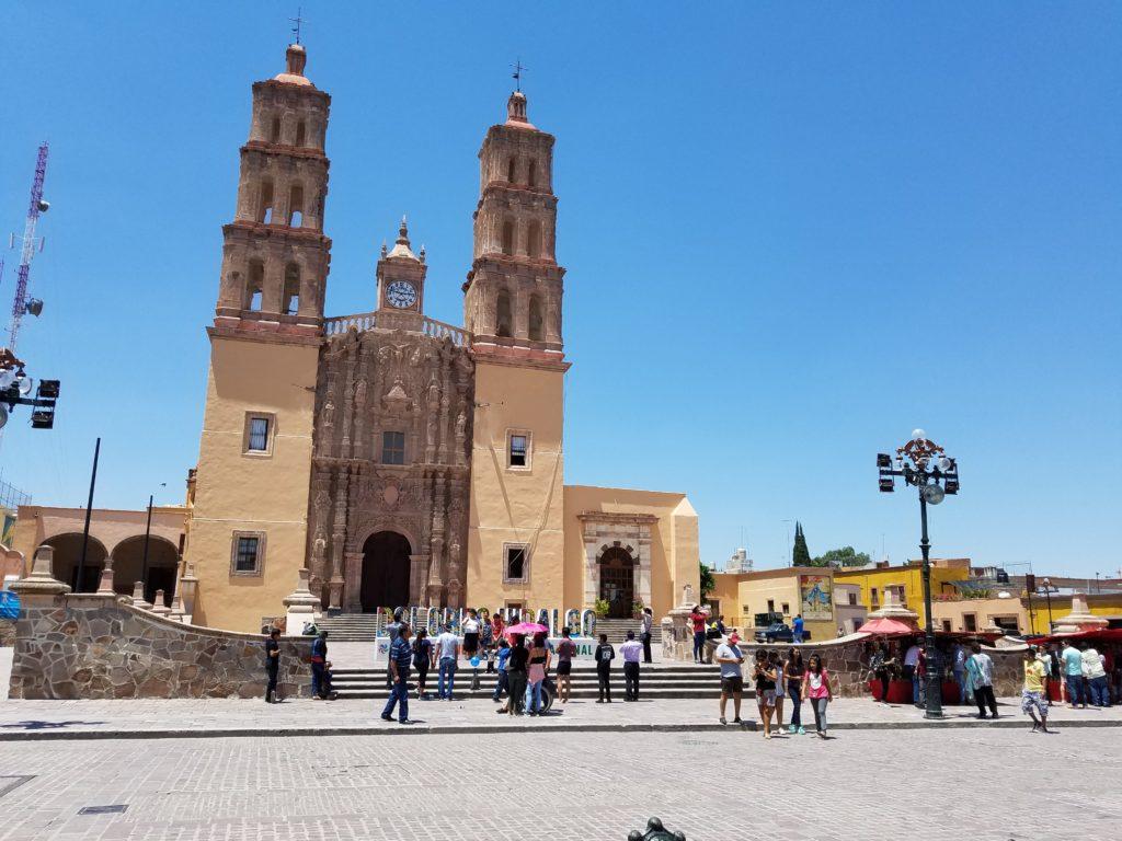 Nuestra Senora de los Dolores Church in Dolores Hidalgo, Mexico