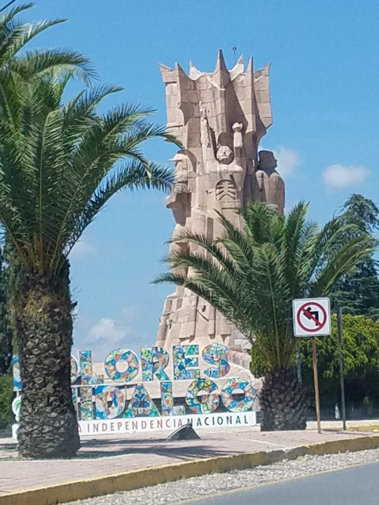 Monument to the Heroes of Independence in Dolores Hildago, Mexico