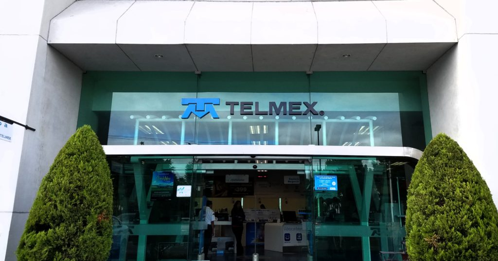 Telmex office in Queretaro, Mexico