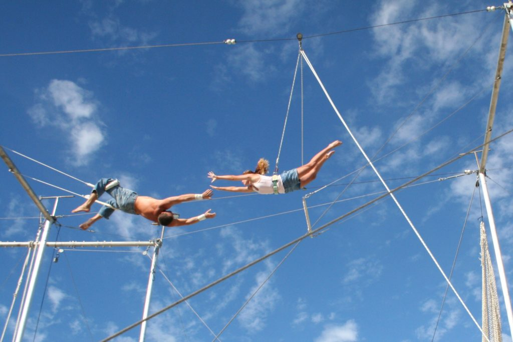 Trapeze experience in the Caribbean
