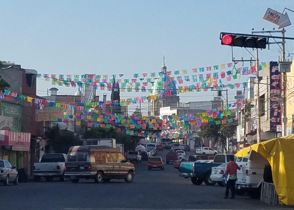 Calle Independencia in Santa Rosa Jauregui