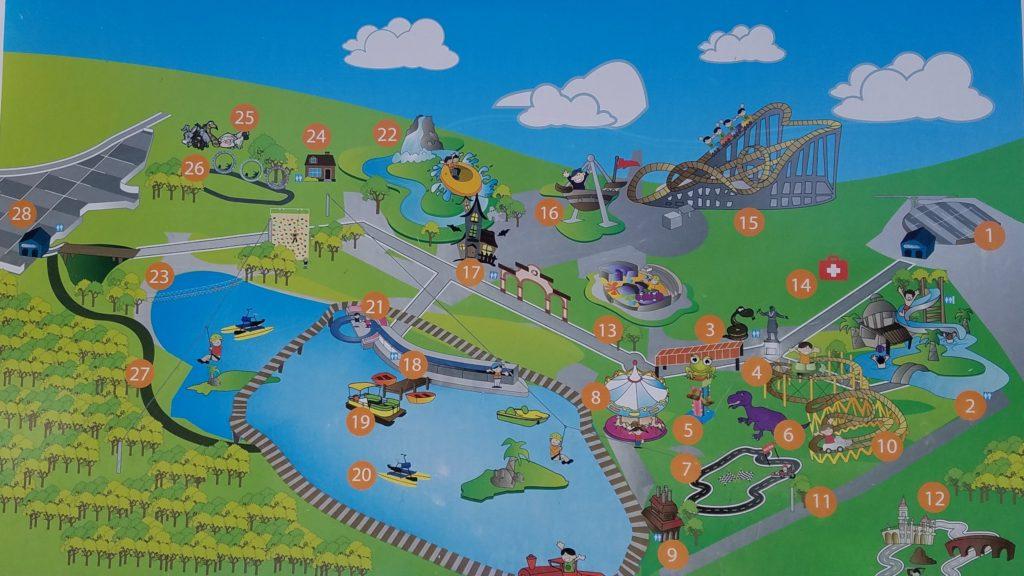 Map of Parque Bicentenario, Santa Rosa Jauregui