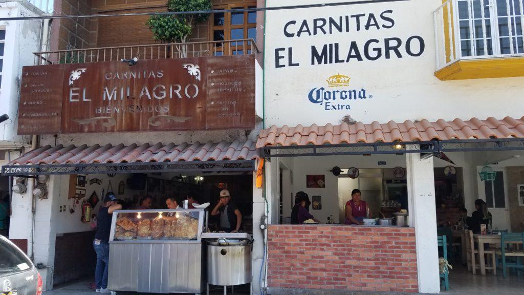 Carnitas El Milagro Restaurant in Santa Rosa Jauregui