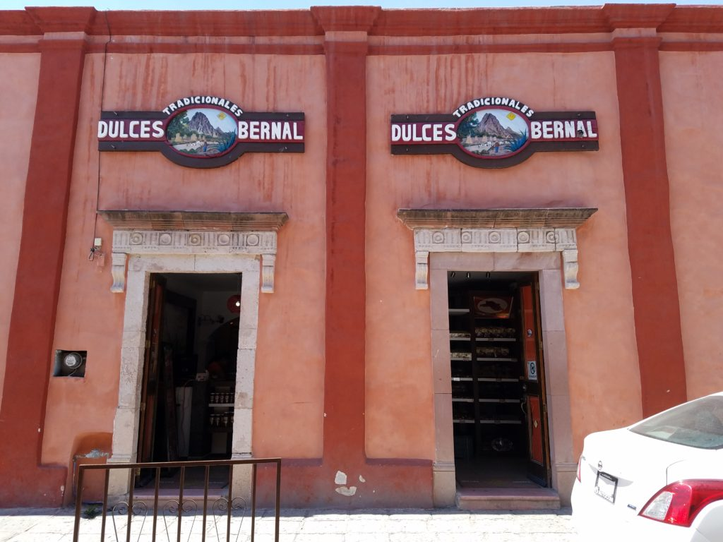 Sweet shop Dulces Bernal in Bernal, Mexico