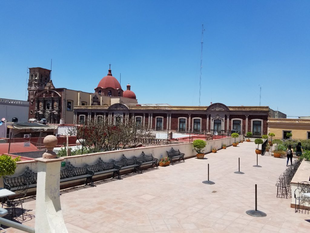 View from the top of the Calendar Museum, Queretaro